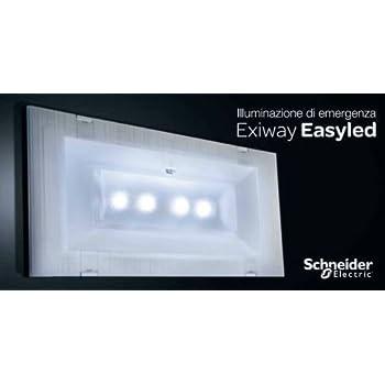 Ova Lampade Emergenza Catalogo.Schneider Electric Lampada Di Emergenza Slim 11w Led Rifinitura