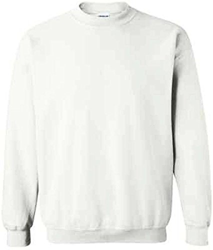 Mens Classic Sweatshirt White L