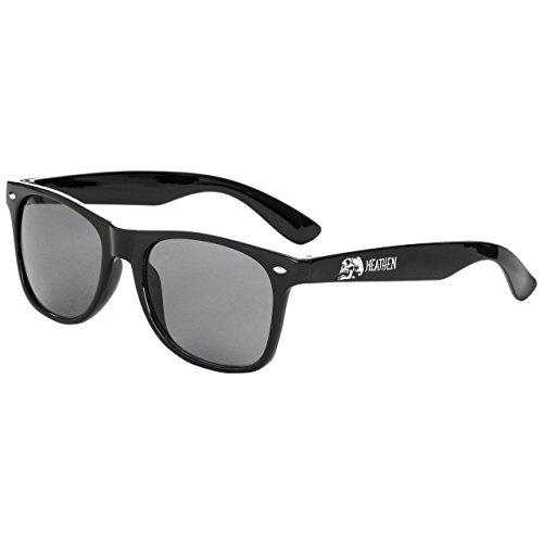 Heathen Doom Sunglasses Black None