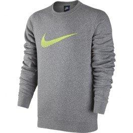 Nike Club FLC Crew Swoosh + – T-Shirt Unisexe