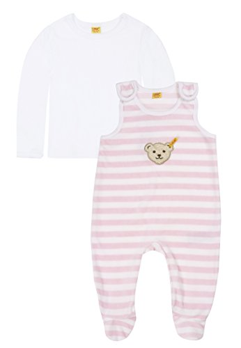 Steiff Unisex - Baby Bekleidungsset Rosa (barely pink ) 62 (Herstellergröße: 62)