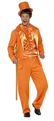 Süße Jahre Kostüm 90er - Smiffys Herren 90er Jahre Alberner Smoking Kostüm, Jacke, Hose, Hemd und Hut, Größe: M, 43204