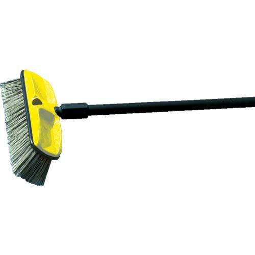 Rubbermaid Kunststoff Block Wash Pinsel mit Loch für Gewinde oder konischem Griff, zurückgesetzt Polystyrol Füllen, 2,5Trim Länge, 25,4cm Länge, grau (fg9b3700gray)