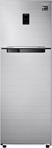 Samsung 275 L 3 Star Frost Free Double Door Refrigerator(RT30K3723S8, Elegant Inox, Convertible, Inverter Compressor)