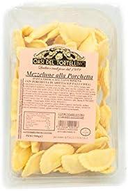 Fa.Lu.Cioli 1917- 4x 500g Mezzelune alla Porchetta di Ariccia IGP (2Kg) - Pasta fresca all'uovo ripiena di