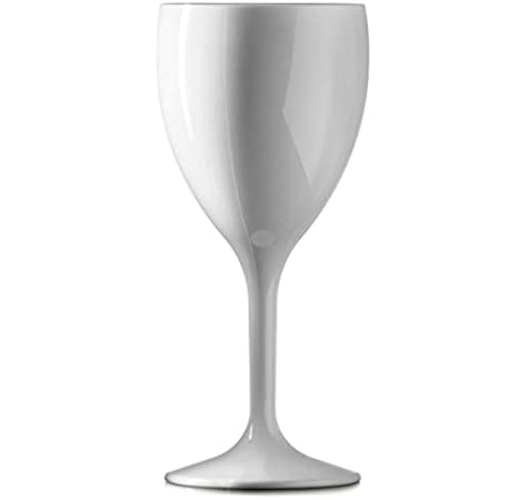 drinkstuff Polycarbonate Wine Glasses Black 12oz 340ml