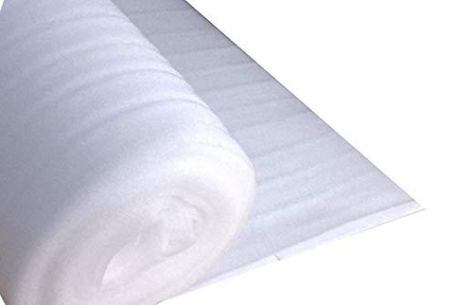 DKB Trittschalldämmung Dämmunterlage aus PE-Schaumfolie Laminat Parkett Fußboden (2 mm PE Schaum, 1 m x 50 m)