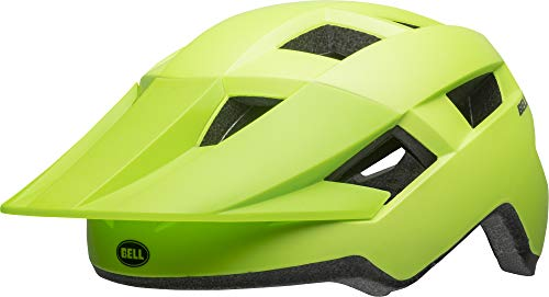 BELL Spark Junior Youth, Casco da Ciclismo Bambino, Matte Bright Green, 50-57 cm