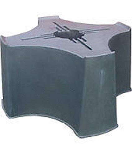 Durable tool Wassertonnenständer, 200 l, Schwarz