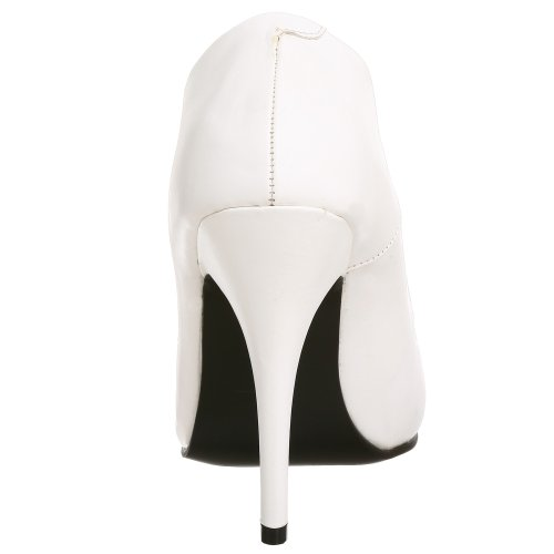 Pleaser, Scarpe col tacco donna Blanco(Blanc)