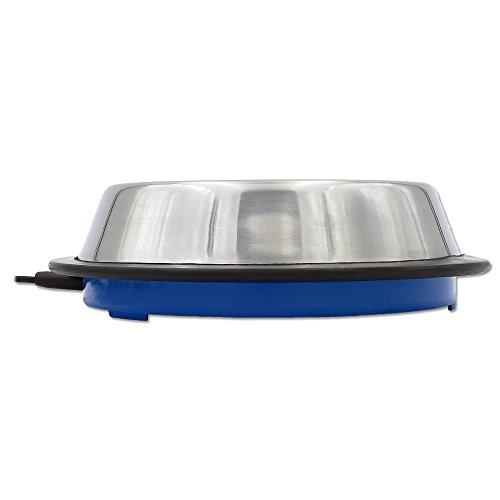 Tränkenwärmer (flach) 3113100 240mm, 12V, 19W, Anschlusskabel mit Batterieklemmen, Kunststoff blau - 3