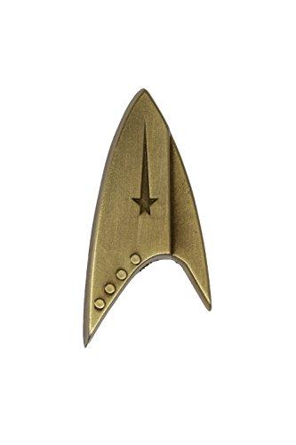 Starfleet Insignia Kirsite Metall Abzeichen Original Pin Cosplay Kostüm Zubehör Weihnachten Merchandise (Star Trek Kostüm Zubehör)