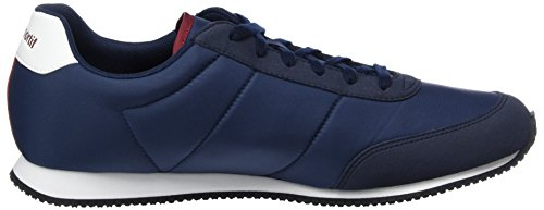 Le Coq Sportif Unisex-Erwachsene Racerone Sneakers Blau (Dress Blue/Rouge Ruby Wine)