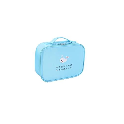 Sac à cosmétiques de voyage polyvalent de haute qualité - Organiseur de toilette de voyage parfait à suspendre, Haute qualité, Portable, Nouveautés (Color : Blue)