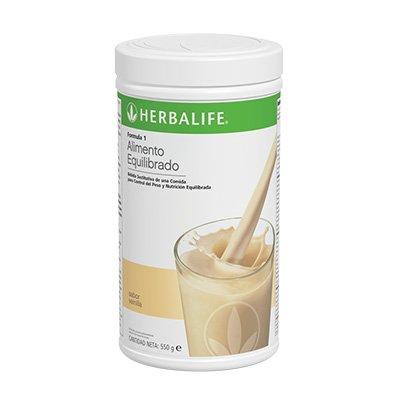 Herbalife Formula 1 batido nutricional sabor Vainilla