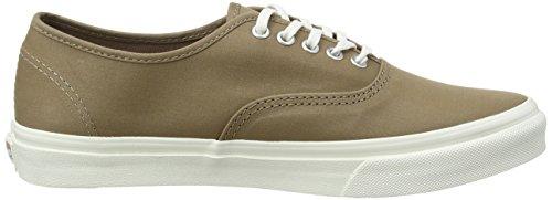 Vans Authentic Slim, Sneakers Basses mixte adulte Marron (Brushed Twill/Caribou/Blanc de Blanc)