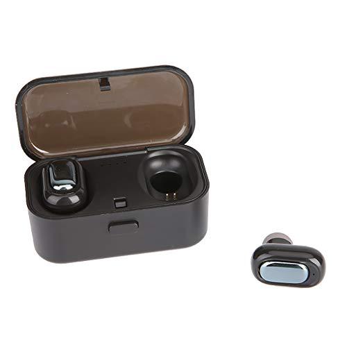 OPAKY Echter HiFi Wireless Bluetooth 5.0-Kopfhörer Sport Ohrhörer Twins Ear Stereo,für iPhone, iPad, Samsung, Huawei,Tablet usw