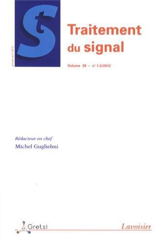 Traitement du signal, Volume 29 N° 1-2, Ja :