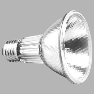 Sylvania 0021163 Halogen-Reflektorlampe Hi-Spot 80 75W E27 10° 240V 2900K 5500 c (75 Watt Sylvania)
