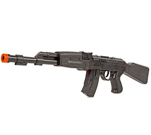 Ratta-Gewehr 42cm Sturmgewehr-47 Spielzeug-Pistole-Waffe Kinder-Kostüm Verkleidung Fasching Karneval Pistole Maschinengewehr Soldat SWAT - 3