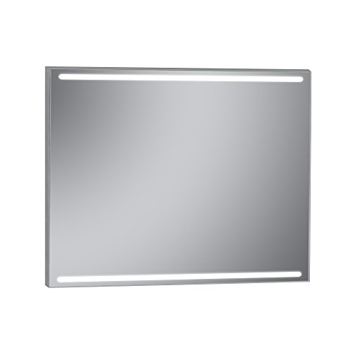 Kristaled Nanga Led 100x80 cm Espejo Baño Estriado