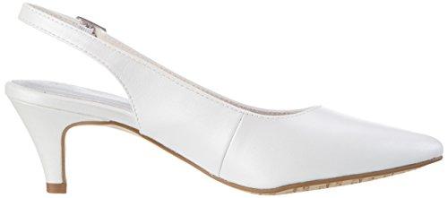 Tamaris Damen 29607 Slingback Weiß (White 100)