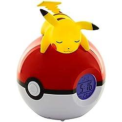 Teknofun Pokémon - Radio Despertador Luminoso Pikachu