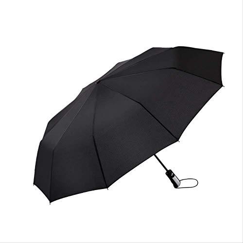 Kreativer Automatischer Regenschirm Faltbarer Sonnenschutz Doppelschirm Business Sonnenschirm Werbeschild