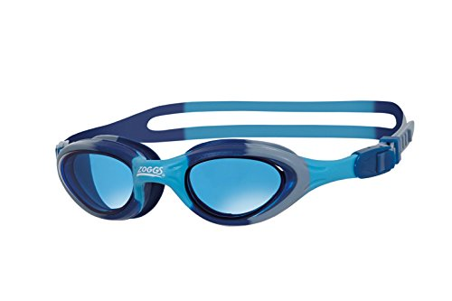 Zoggs Kinder Super Seal Junior Schwimmbrille, Blue/Camo/Tint, One Size