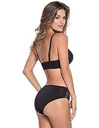 LEONISA Braguita Estilo Bikini de Tiro Alto