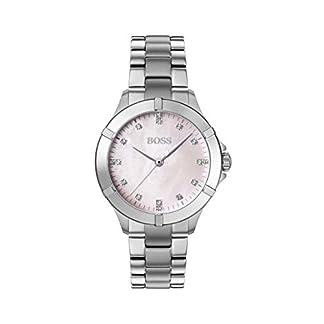 Hugo Boss Reloj Analógico para Mujer de Cuarzo con Correa en Acero Inoxidable 1502469