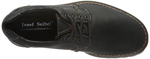 Josef Seibel Schuhfabrik GmbH Chance 08, Chaussures de ville à lacets homme Gris foncé