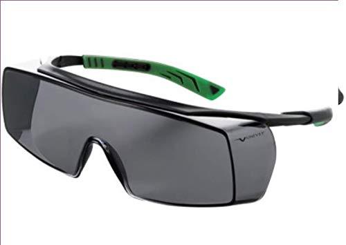 Univet 5X7 Ultimate Overspecs Italian Safety Smoke Work Glasses by Univet Optical Technologies