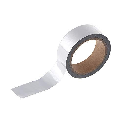 Journal Stationery Sticker Gold-und Silber-Klebeband Scrapbooking Sticky Papier Weihnachts Tagebuch Dekorative Band (Silber) -