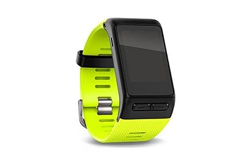 Garmin vívoactive HR Sport GPS-Smartwatch (integrierte Herzfrequenzmessung am Handgelenk, diverse Sport Apps) - inklusive gratis Wechselarmband - Gelb