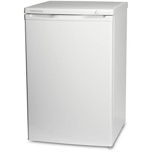 MEDION MD 37072 Gefrierschrank (85L Nutzungsinhalt, manuelle Temperatureinstellung, 4 Schubladen) weiß
