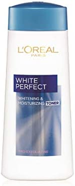 L'Oreal Paris Skin Care White Perfect Whitening And Moisturizing Toner 200 ml, Pack