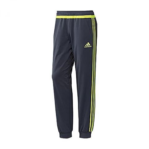 2015-2016 Real Madrid Adidas Sweat Pants (Grey)