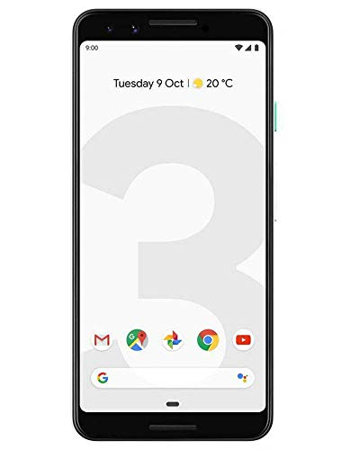 Google Pixel 3 (Clearly White, 4GB RAM, 128GB Storage)