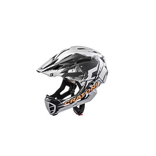 Cratoni Fahrradhelm C-Maniac Pro (MTB) Gr. S/M (52-56cm) Chrome/matt (1 Stück)