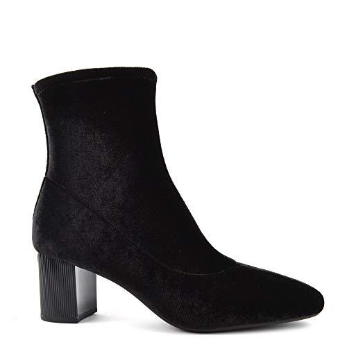 Michael Kors Michael by Palomar Black Stretch Velvet Boot 40 Schwarz - Michael Boots Kors