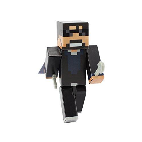 EnderToys Cool Guy Action Figure Toy, 10cm Custom Series Figurines, - Lego Guy Kostüm