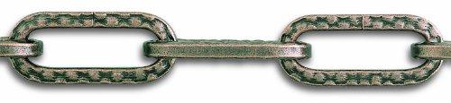 Chapuis LVBL41 Lampenkette - Geschmiedeter bronzierter Stahl - 32 kg - Durchmesser 4 mm - Länge 1,5...