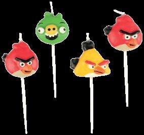 Figurenkerzen / Minni Kerzen Angry Birds