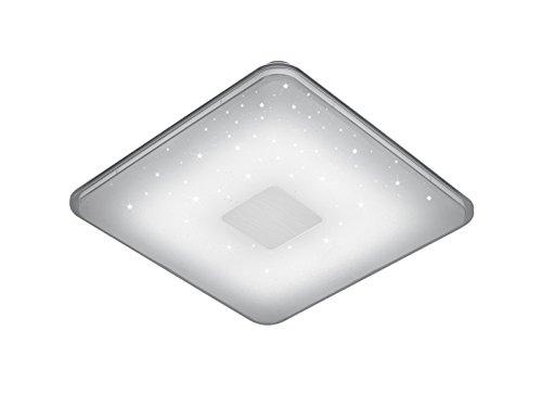 Preisvergleich Produktbild Trio Leuchten 628613001 Samurai,  Deckenleuchte,  Acryl,  weiß,  42.5 x 42.5 x 6.0 cm