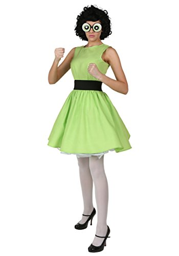 Kostüm Buttercup - Plus Size Buttercup Powerpuff Girl Fancy dress costume 2X