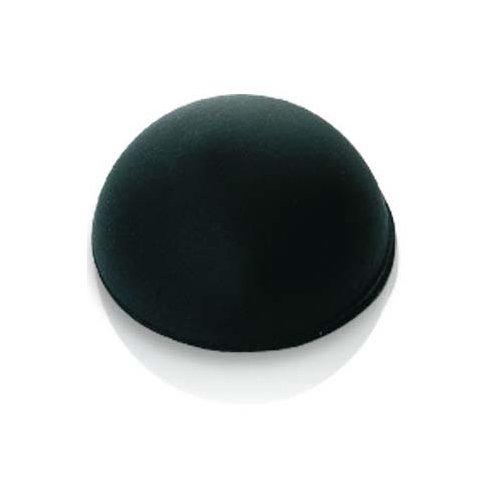 Oehlbach One for All (effektiver Resonanzdämpfer / Absorber für kleine und größere Geräte, Lautsprecher) 4 Stück, schwarz