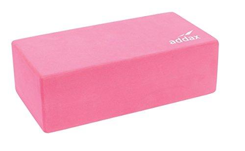 Addax - Ladrillo de Yoga y Pilates de espuma EVA, 22 cm x 11 cm x 7 cm