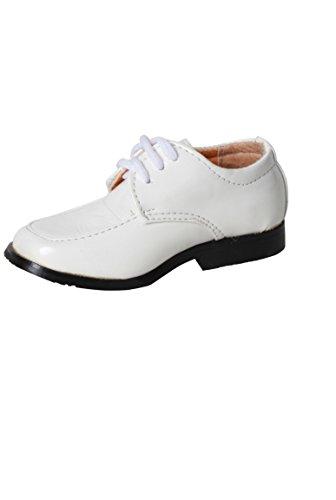 Farbe Schuh Absteppungen Ziemlich Weiße derby Weiß Baby Hochzeit wUqAvZI