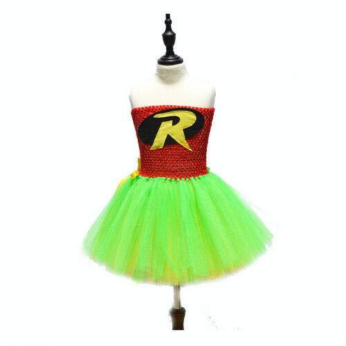 splay-Kostüm Superhelden-Mädchen-Tutu-Kleid, klassisch, Halloween-Party, Spatz, (24M) UK ()